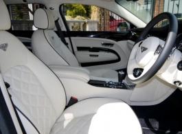 Modern Bentley wedding car hire in Middlesex